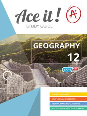 cover image of Ace It! Geography Grade 12